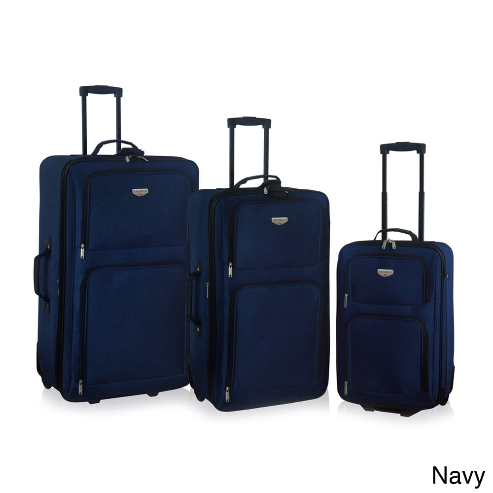 Traveler's Club Luggage Traveler's Club Genova Collection 3-piece Rolling Expandable Luggage Set at Sears.com