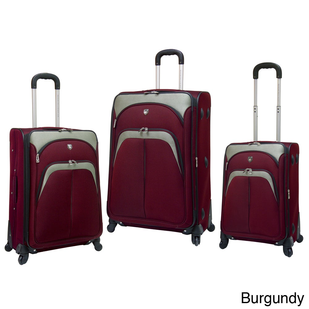 Traveler's Club Luggage Traveler's Club Lexington Collection 3-piece Spinner Luggage Set at Sears.com