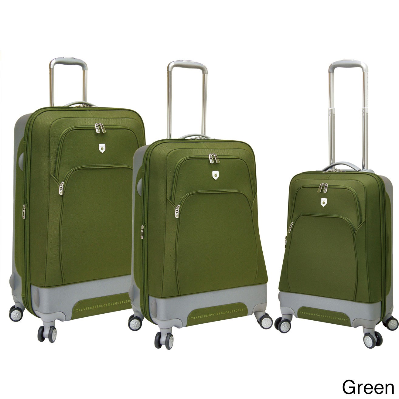Traveler's Club Luggage Traveler's Club Barcelona Collection 3-piece Expandable Spinner Hybrid Luggage Set at Sears.com