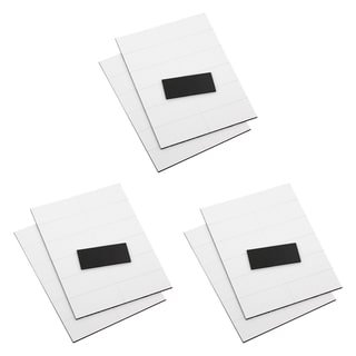 Quartet 2-inch White Magnetic Write-On Wipe-Off Strips (Pack of 75)