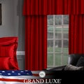 Grand Luxe Merlot Braxton Grommet Curtain Panel