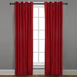 Grand Luxe Merlot Braxton Grommet Curtain Panel