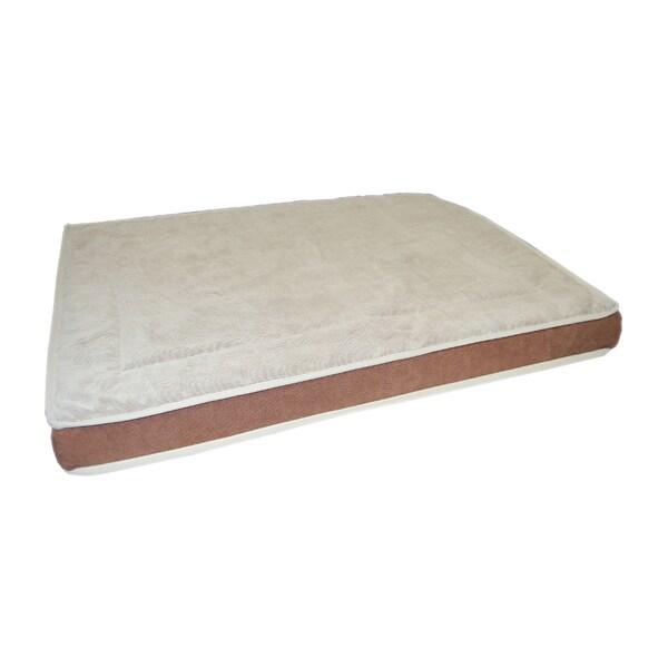 Quilted Top Gel Memory Foam Pet Bed