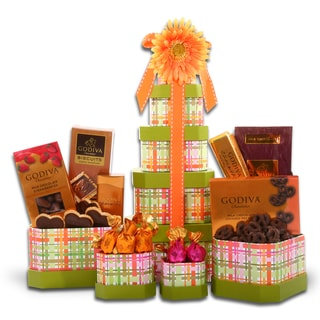 Alder Creek Gift Baskets Godiva Mother's Day Tower Collection