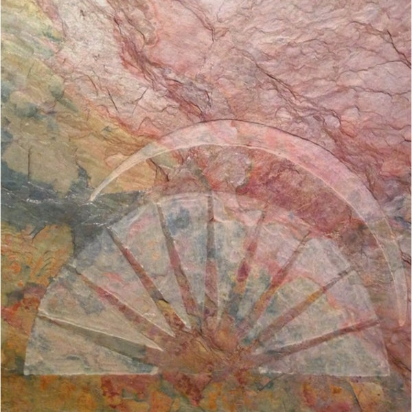 Sun Art Giclee Canvas 'The Rising Sun' Limited Edition Original