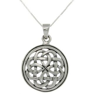 CGC Silver Eternal Celtic Knot Necklace