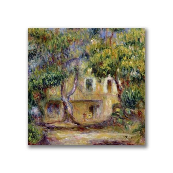 Pierre Renoir 'The Farm at Les Collettes' Canvas Art