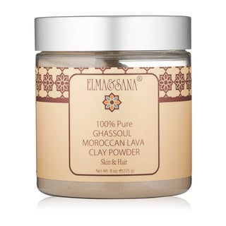 Elma & Sana Moroccan Ghassoul Lava Clay 8-ounce Powder