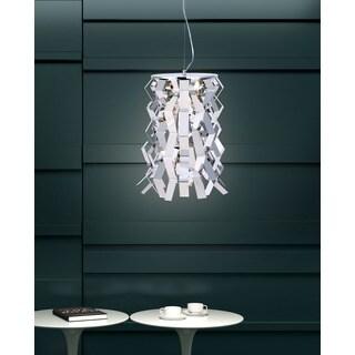 Fission 1-light Chrome Ceiling Lamp