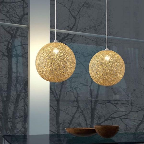 Continuity 1-light Beige Ceiling Lamp