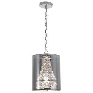 Byrion 1-light Chrome Ceiling Lamp