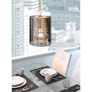 Byrion 1-light Chrome Ceiling Lamp
