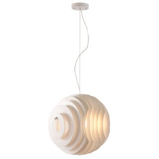 Intergalactic 1-light White Ceiling Lamp