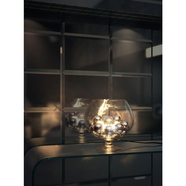 Terran Chrome Table Lamp
