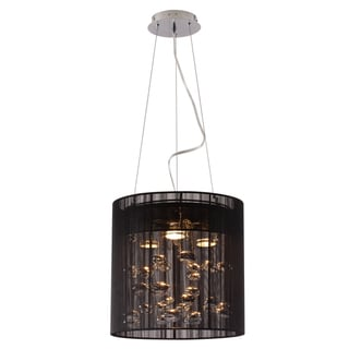Subatomic Black Ceiling Lamp