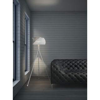 Sirius White Floor Lamp
