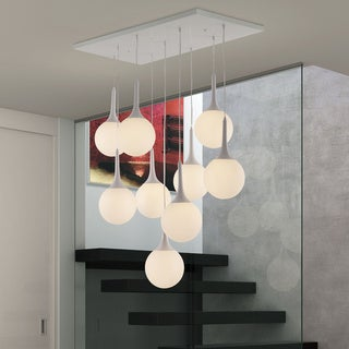 Epsilon White Ceiling Lamp