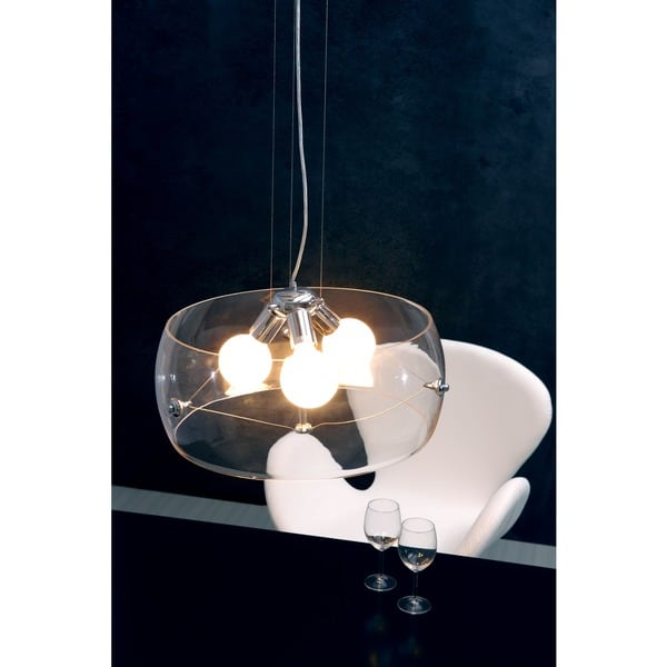 Asteroids Clear Ceiling Lamp