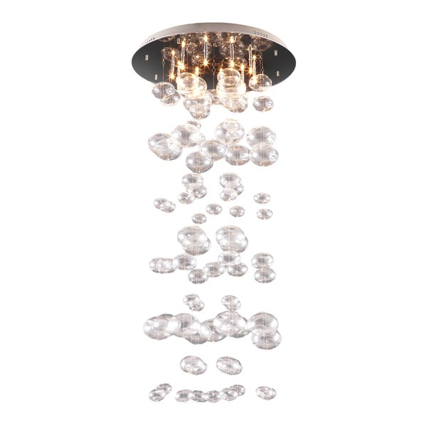 Inertia 10-light Glass Globes Ceiling Lamp