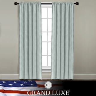 Veratex Grand Luxe Mineral All Linen Gotham Rod Pocket Panel
