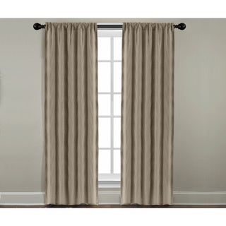 Veratex Grand Luxe Khaki Linen Gotham Rod Pocket Panel
