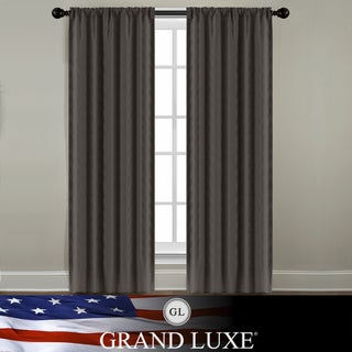 Veratex Grand Luxe Java Linen Gotham Rod Pocket Panel
