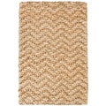 Harrington Gold Jute Rug (4' x 6')