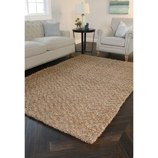 Kosas Home Harrington Gold Jute Rug (4' x 6')