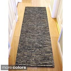 Santa Clarita Wool/ Jute Runner Rug (2.6' x 8')