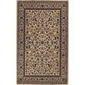 Sarouk Cream Indoor Rug (7'6 x 11'2)