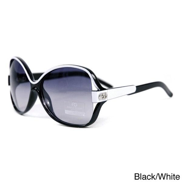 DASEIN by Anais Gvani Women's Two-tone Chic Open Sunglasses