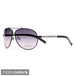Anais Gvani Women's Classic Plastic Aviator Sunglasses