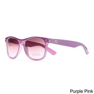 Anais Gvani Plastic Retro Frame Sunglasses