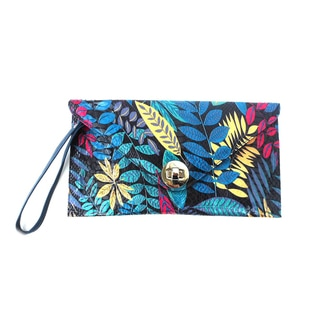 Clauidia G. 'Zita Blue Jungle' Clutch