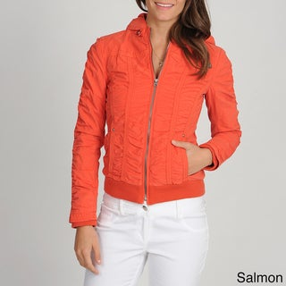Buffalo Women's Ruched Hooded Jacket