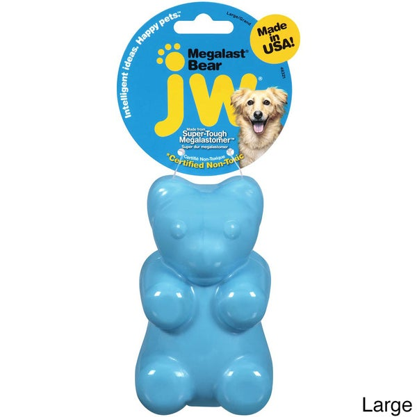 JW Mega Blaster Bear Pet Toy