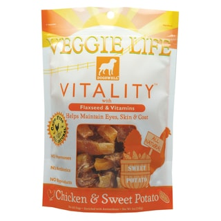 Dogswell Veggie Life Vitality Chicken and Sweet Potato Chews