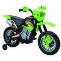 Happy Rider Green Ride-On Dirt Bike