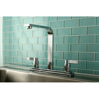 Euro Two-handle Chrome Kitchen Faucet
