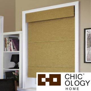 Chicology Cordless Jamaican Antique Gold Roman Shade