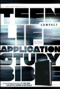 Teen Life Application Study Bible: New Living Translation, Black, LeatherLike, Go Edition (Paperback)
