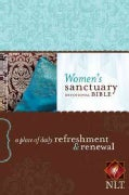 Women's Sanctuary Devotional Bible: New Living Translation: A Place of Daily Refreshment & Renewal (Paperback)