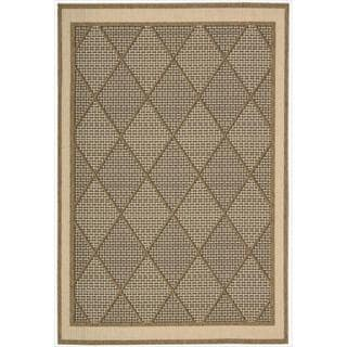 Eclipse Glamarous Diamond Brown Rug (9'6 x 13')