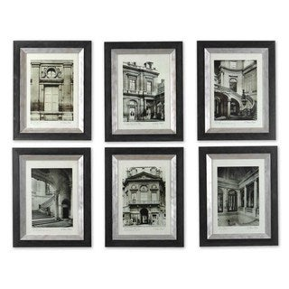 Paris Scene Framed Art Set/6