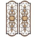 Micayla Antique Metal Panels (Set of 2)