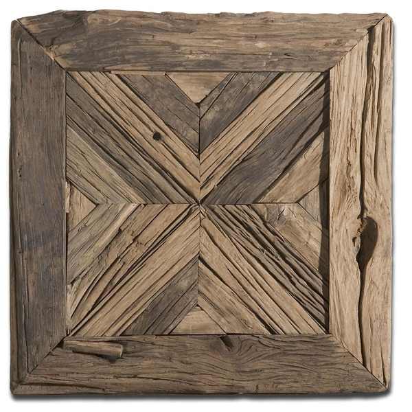 Uttermost rennick reclaimed wood wall art 15282638 Reclaimed wood wall art for sale
