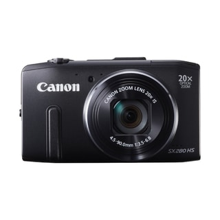 Canon PowerShot SX280 HS 12.1MP Black Digital Camera