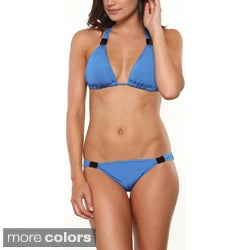 1 Sol Swim 2-piece Grecian Bikini Swimsuit