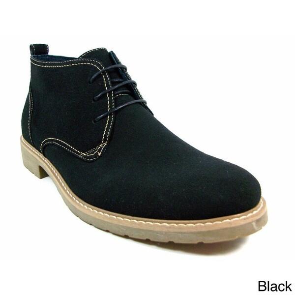 Ferro Aldo Men's Faux Suede Desert Boots