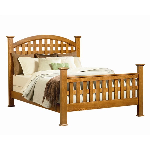Retreat Solid Wood Bed